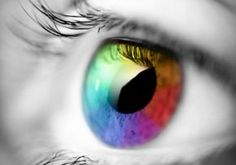Estrogen affects cells in the eye's retina, which may help explain a possible link between glaucoma and estrogen levels. women in survey by CDC who were over and took contraceptives for more than 3 years were likely to develop glaucoma. Third Gender, Rainbow Eyes, Rainbow Colors, Rainbow Stuff, Rainbow Things, Bright Colors, Aspergers, Autism Awareness, Color Theory