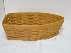 NEW Longaberger Natural Flax Little Laundry Hostess Booking Basket Liner
