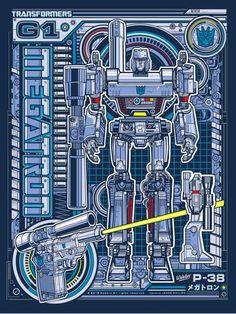 Megatron Print