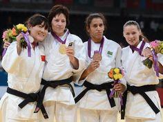 Michelle Ferreira - judô - Medalha de Bronze - Foto: Getty Images