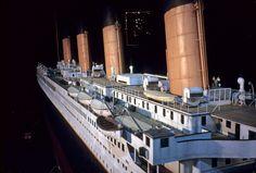 Titanic 1/20th scale miniature. Image courtesy of Evan Jacobs