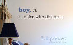 Boy Wall Decal - Boys room wall decal - kids playroom decal on Etsy, $20.71
