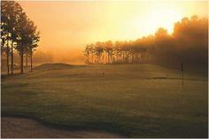 Golf Course at Dawn Photography (Art Prints, Wood & Metal Signs, Canvas, Tote Bag, Towel) Disc Golf Course Review, Golf Course Reviews, Famous Golf Courses, Public Golf Courses, Prado, Coeur D Alene Resort, Night Swimming, Stock Art, Antique Maps