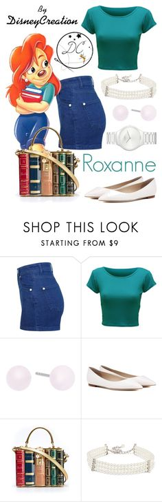 """""""Roxanne - By DisneyCreation"""" by disneycreation ❤ liked on Polyvore featuring Miss Selfridge, WearAll, Michael Kors, Jimmy Choo, Dolce&Gabbana, Kenneth Jay Lane and Rado"""