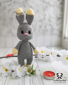 Sale 10 % off! Only until March 7 for everything Bunny Pattern in my Etsy shop. Octopus Crochet Pattern, Easter Crochet Patterns, Crochet Patterns Amigurumi, Amigurumi Doll, Handmade Toys, Handmade Ideas, Etsy Handmade, Handmade Crafts, Crochet Rabbit