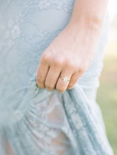 Oval-cut engagement ring   Photography: Tenth & Grace