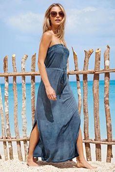 Next ditsy maxi dress