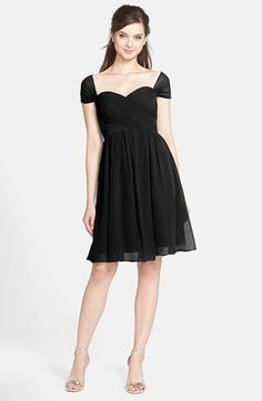 $260, Jenny Yoo Riley Convertible Chiffon Dress. Sold by Nordstrom. Click for more info: https://lookastic.com/women/shop_items/366824/redirect