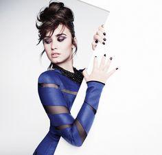 Demi Lovato -adorei o visual..o look.. ta de maissss