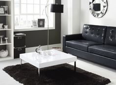 Buy Tiffany White High Gloss Square Coffee Table From   The UKu0027s Leading  Online Furniture And Bed Store