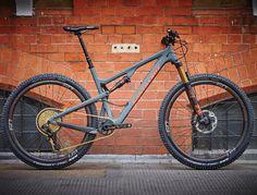 "Santa Cruz Bicycles on Instagram: ""Beauty of a new #TallboyCC 29er build from @sohobikeslondon - Tallboy3 CC in Matte Carbon/Rust - @fox suspension - @srammtb #SRAMeagle"