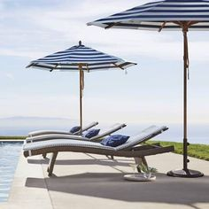 Our Frontgate Balencia Bronze Sun Chaises, created by noted designer Claude Robin, invokes the languid elegance of a coastal French resort town. Their unfussy, European-inspired design is a reminder that the true mark of quality is simplicity.Sublimely contoured to support the bodyHandcrafted of weather-defying wicker fiberUltra-strong aluminum frame Allows for perfect positioning by adjusting the backrest; legs can be folded inStacks flat for easy storageElegant 6' designWon't stick to…