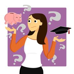 An education loan is structured very differently compared to other loans from banks. As it is a loan which is used to fund education, the repayment of the principal of this loan begins after the student completes his education. College Costs, Saving For College, Saving For Retirement, Happy Retirement, College Tips, Student Loan Repayment, Paying Off Student Loans, Student Loan Debt, Financial Success