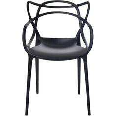 Cadeira Allegra Preta - Rivatti - Submarino.com
