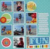 fun layout lots of pictures