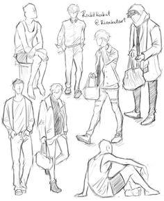 RockitRocket — body practice from class - Malerei Human Body Drawing, Human Anatomy Drawing, Human Figure Drawing, Figure Drawing Reference, Art Reference Poses, Drawing Practice, Anatomy Reference, Human Figure Sketches, Human Sketch