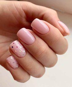Semi-permanent varnish, false nails, patches: which manicure to choose? - My Nails Diy Valentine's Nails, Swag Nails, Grunge Nails, Cute Acrylic Nail Designs, Cute Acrylic Nails, Gold Nails, Pink Nails, Red Nail, Hair And Nails