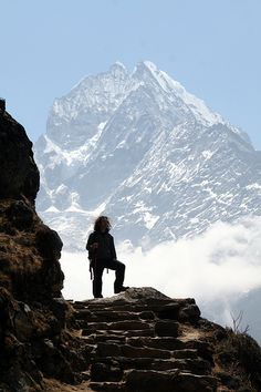 Kathmandu , Nepal, Himalayas, Everest I lift my eyes unto the hills, where does my help come from?
