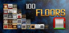 100 Floors - A pretty fun, and equally frustrating game!! download 100, floors, con 100, andoid app, app android, iphon game, frustrat game, android game, 100 floor
