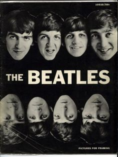 1964, The Beatles Picture For Framing Magazine - Published by Hutchinson of London - Pocket Books, INC. (England) 1964