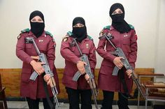 First Asian BDS Lady Elite Commando Sisters. Three sisters, Pari Gul, Samina and Rukhsana who are honoured to become Asia's first BDS Elite Commandos. Civil Service, Over The Years, Warriors, Fields, Pakistan, Sisters, Tables, Army, Politics