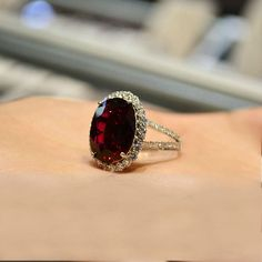 red wedding, red ring http://www.etsy.com/listing/89057218/engagement-ring-96-carat-rubellite