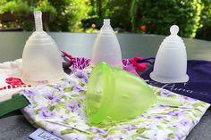 4 Menstruationstassen: Vergleich und Erfahrungen ♡ Fairwandlung #divacup #meluna #rubycup #menstruationstassen