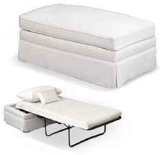 The Ottoman Bed - Space Saver Genius! (http://www.averyboardman.com) - Space Saving Design Elements For Small Space & Apartment Living
