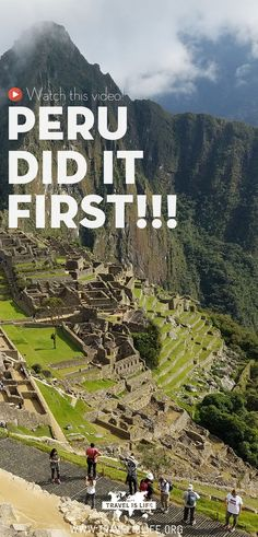 Peru has had a lot of important firsts in history... and at times has been more progressive and ahead of the times than the USA. Here a few examples of when Peru has beat USA and the rest of the world. #peru #southamerica #usa #travelvideos