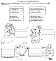 Resultado de imagen para los trabajadores de la epoca colonial secuencia didactica Classroom Signs, Batman Vs Superman, Spanish Class, Teaching Math, Social Studies, Acting, Humor, Education, History