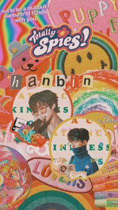 Ikon Wallpaper, Wallpaper Iphone Cute, Kim Hanbin Ikon, Wall Prints, Aesthetic Wallpapers, Painting, Cherry, Korea, Posters