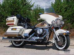 Moto Clásica Americana Harley Davidson Electra Glide Classic