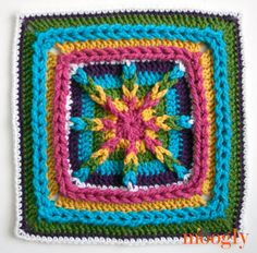 Tamara's Kismet Square - Block #1 for MooglyCAL 2015!