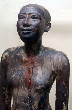 Dynasty 6. Old Kingdom. From Saqqara. Egyptian Museum, Cairo.