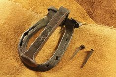 HandForged Door Knocker Railroad Spike and by KnightsCrossForge, $40.00