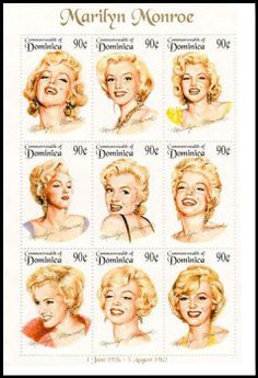 Stamps of MM have been around for a number of years