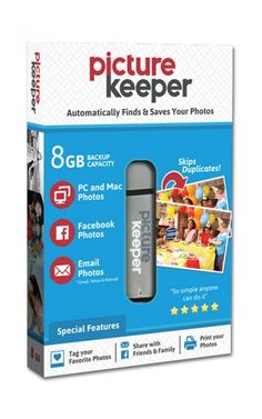 Picture Keeper Portable Flash USB Photo Backup and Storage Device for PC and MAC Computers