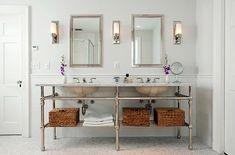 bath mirror sconce - Google Search