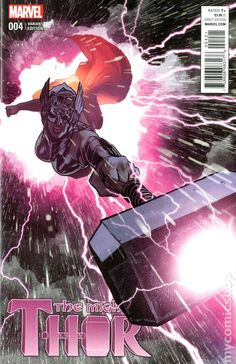 Mighty Thor No. 4 Cover Featuring Thor (Female) Marvel Comics Poster - 30 x 46 cm Marvel Comic Character, Marvel Comic Books, Comic Books Art, Comic Book Artists, Comic Book Characters, Comic Artist, Marvel Characters, Marvel Comics, Marvel Heroes