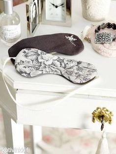Silmälaput | Kotivinkki Sewing Hacks, Sewing Tips, Diy And Crafts, Cute, Inspiration, Biblical Inspiration, Kawaii, Inspirational, Inhalation