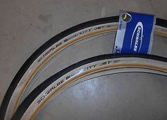 2 x #schwalbe city jet 26 x 1.95 mtb road cycle tyres #amber #sidewalls,  View more on the LINK: http://www.zeppy.io/product/gb/2/291792076023/