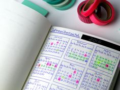 all these little things: Mein Bullet Journal - ein Organisationstalent!