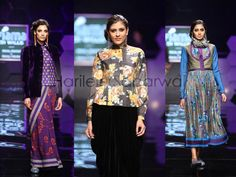 Payal Pratap Singh- Trend Floral Prints and Jewel Tones
