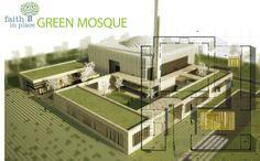 Image 2 of 10 from gallery of Green Mosque / Onat Oktem, Ziya Imren, Zeynep Oktem, Uri Tzarnotzky. Courtesy of Onat Oktem, Ziya Imren, Zeynep Oktem and Uri Tzarmotzky