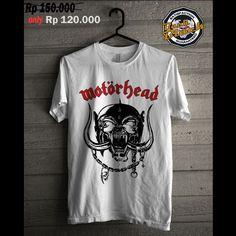 kaos keren motorhead #motorhead #tshirt #kaos #jakarta # indonesia #forsale www.backinblackid.com
