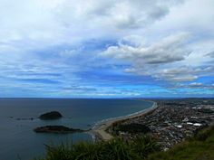 View from Mount Maunganui, New Zealand