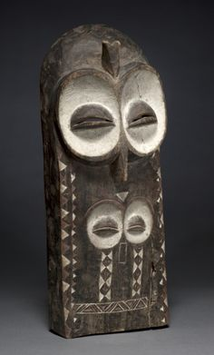 Plank Mask, Democratic Republic of the Congo, Bembe , possibly early 20th century