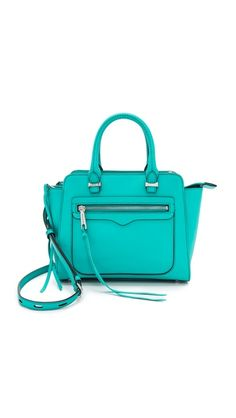 Gorgeous Rebecca Minkoff satchel. The color is amazing.
