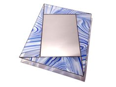 Stained Glass Mirror - Skewed Rectangle - 50cm x 40cm