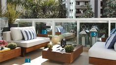 34 ideias para decorar varandas - Casa